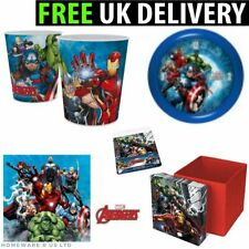 MARVEL AVENGERS BEDROOM ACCESORIES TOY BOX PILLOWCASE LAMP CLOCK CUSHIONS