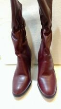 Vintage Unworn Etienne Aigner Burgundy Boots 7