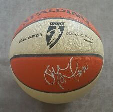SUE BIRD SIGNED SEATTLE STORM OFFICIAL GAME ISSUED/USED WNBA BASKETBALL AUTO