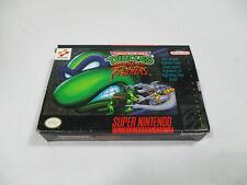 TMNT TOURNAMENT FIGHTERS Super Nintendo SNES Authentic Box NO GAME CART!