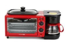 3 in 1 Breakfast Machine Breakfast Station Red