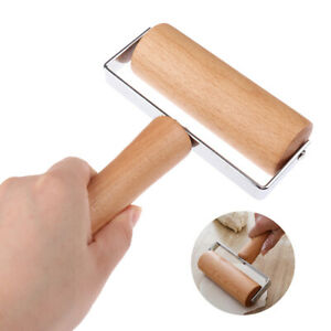 Rolling Pin Pastry Pizza Pasta Hand Rolling Bake Roller Wooden Baking Kitche HL
