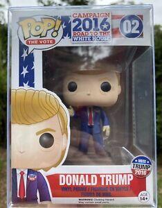 2016 Election - Donald Trump #02 Funko Pop Vinyl New in Box +PROTECT