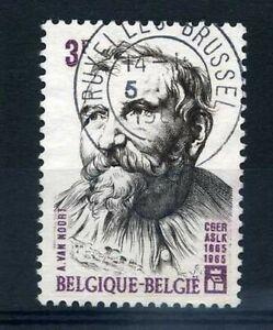 Belgium 1965, Stamp 1324, Van Noort, Obliterated