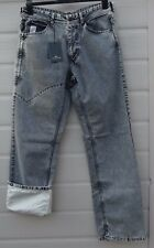 """RARE STONE ISLAND SHADOW PROJECT REFLECTIVE JEANS 32"""" W / 32""""L NEW WITH TAGS"""