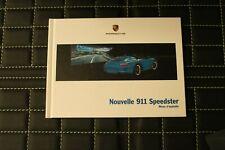 RAR VIP Prospekt/brochure Hardcover Porsche 911 Speedster 05/10 französisch