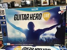 Guitar Hero Live with Guitar Controller wii U