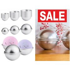 Bath Bomb Making Kit Mold Set Press Hand Supplies Shapes Kids Stainless Steel 30