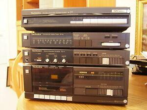 Technics Vintage Record Deck/Cassette Player/Radio/Amplifier
