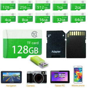 8GB 16GB 32GB Micro TF Flash Memory Card For Camera Cell Phone Free Adapter