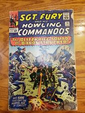 Sgt.Fury and his Howling Commandos #14  Marvel January 1964