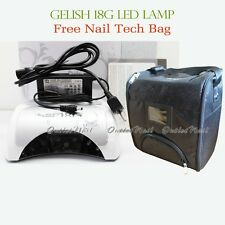 Gelish Harmony LED Light Lamp 18G Pro Gel Professional 110 - 240V FREE TECH BAG