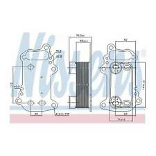 Genuine Nissens Gearbox Oil Cooler - 91151