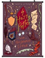 """Hot American Movie Harry Potter Art Poster Wall Scroll Home Decor 8""""x12"""" C60"""