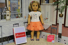 """American Girl 2014 """"Coconut Cutie Outfit"""" - COMPLETE - NIB"""