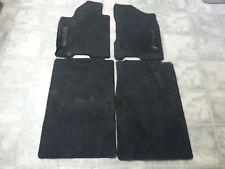 09 Nissan Titan black factory carpet floor mats