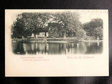 CPA BAS RHIN 67 : GRUSS VON DER FISCHERINSEL - GARTENWIRTSCHAFT SCHERER - 1898