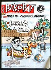 ►PSIKOPAT n°247 du 11/2012; Dossier; Nos 3 millions de chômeurs