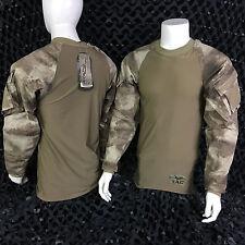 NEW Valken V-Tac ZULU Combat Shirt Paintball Jersey - ATACS-AU Camo - Large