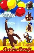Universal Studios Curious George Movie Balloons Poster 22X34 New