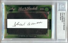 Hank Aaron 2011 Leaf Best of Baseball Cut Signature Auto A Braves #