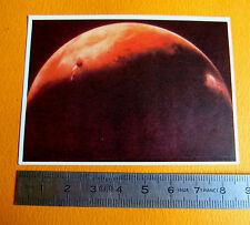 CHROMO CHOCOLAT POULAIN SERIE 39 CONNAISSANCE UNIVERS N°7 PLANETE MARS