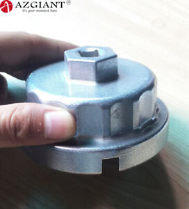 64mm Oil Filter Wrench Housing Cap for Toyota 2.7-3.5L Venza Sienna Highlander