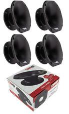 "4x DS18 PRO-HA50 Slim Pro Horn Trumpet 2"" Throat Car Audio Screw Down"