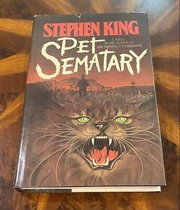 Pet Sematary Stephen King Hardcover Doubleday