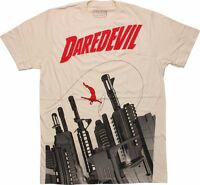 Daredevil Gun City Marvel Comics Licensed Adult T-Shirt