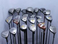 Lot of 24 Golf Club Driver Fairway Wood Cleveland Cobra Taylormade MSRP $3000