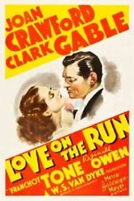 Love on the Run - 1936 - Joan Crawford Clark Gable Vintage Romantic Comedy DVD