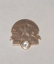 Gold 50th Anniversary Pin With Diamond New listing Carl's Jr. Restaurant 14K Yellow