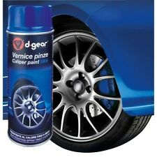 VERNICE BLU BLUE PINZE FRENI FRENO SPRAY 400ML AUTO MOTO TUNING BOMBOLETTA