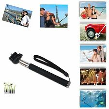 Extendable Stretch Selfie Monopod Stick Mount Holder For Compact Camera Canon
