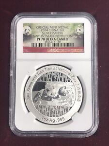 2014 Silver Panda MS70 Ultra Cameo