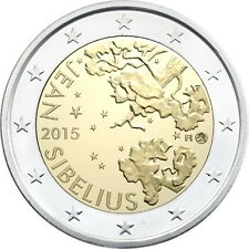 "Pièce Commémorative de Finlande 2015 BE ""Jean Sibelius"""