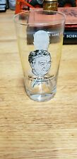 VINTAGE NFL FOOTBALL GREEN PACKERS VINCE LOMBARDI / CURLY LAMBRAU DRINKING GLASS