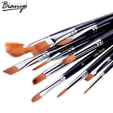 M00943 MOREZMORE Set 12 Nylon Hair Acrylic Water Color Paint Art Brushes A60