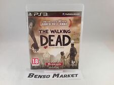 THE WALKING DEAD 1 SEASON ONE TELLTALE SERIES SONY PS3 PAL ITA ITALIANO COMPLETO