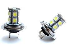 H7 LED/SMD faros antiniebla cada uno con 13 LEDs Xenon Weiss vw golf 6 VI GTI R