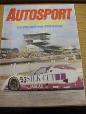 1986 Motor Racing magazine: Autosport-Le Mans Yearbook 1986, full Spectator Gu