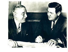 """Babe Ruth & Jacob Ruppert - 8"""" x 10"""" Photo - 1934 New York Yankees Contract"""