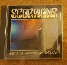 SCORPIONS BEST OF ROCKERS N' BALLADS CD 1989