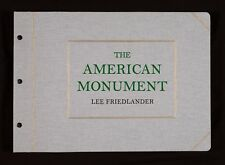 Lee Friedlander The American Monument 2nd Edition New & Signed Photography Book