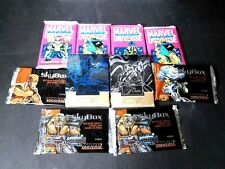 PANDEMIC PACKS Lot Boredom Buster Marvel Universe Flair cards 10 sealed packs