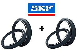 2x SKF Gabel Dichtringe + Staubkappen ZF Sachs 43 mm # APRILIA