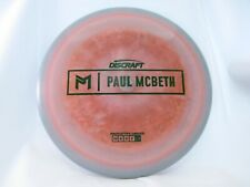 Le Discraft Prototype Esp Paul Mcbeth Anax Orange w/ Green Stamp 175g -New