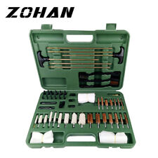 62Pcs Gun Cleaning Tool Kit tools set Rifle Handgun Shotgun F irearm Cleaner