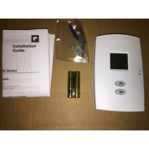 """HONEYWELL TH1100DV1000 24 VOLT """"PRO 1000"""" NON PROGRAMMABLE HEAT ONLY THERMOSTAT"""